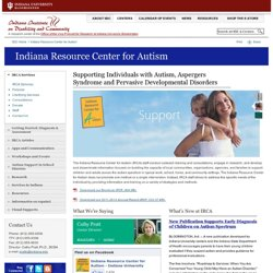 Resource Center for Autism