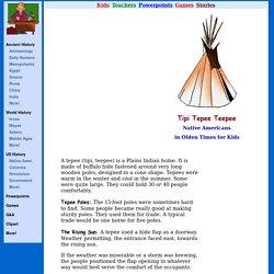MrDonn.org: Tipi Tepee Teepee