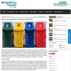 pbytes.indiaproperty.com » Waste management: Serious trash talk