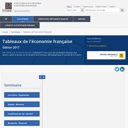 Principaux indicateurs économiques−Tableaux de l'économie française