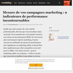 Mesure de vos campagnes marketing : 9 indicateurs de performance incontournables