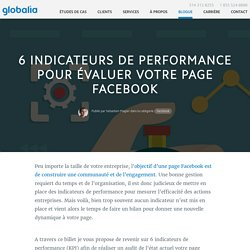 6 indicateurs de performance page Facebook