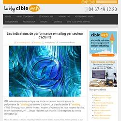 Les indicateurs de performance e-mailing par secteur d'activité
