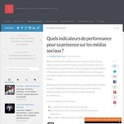 Quels indicateurs de performance pour sa présence sur les médias sociaux ?