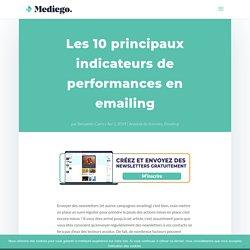 Les 10 principaux indicateurs de performances en emailing