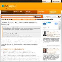 Tableau de bord : les indicateurs de ressources humaines - Piloter son entreprise - PME-Gestion