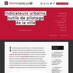 Indicateurs urbains, outils de pilotage de la ville