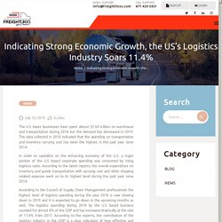 Indicating Strong Economic Growth, the US's Logistics Industry Soars 11.4% - Freightlinxs