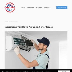 Indications You Have Air Conditioner Issues