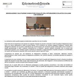 INDICATORI DI QUALITA' DELL'INTEGRAZIONE