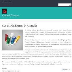 Get LED indicators in Australia – Control Devices