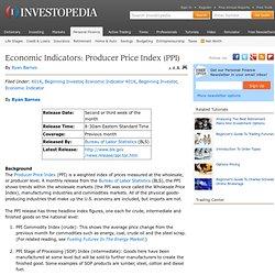 Economic Indicators: Producer Price Index (PPI)