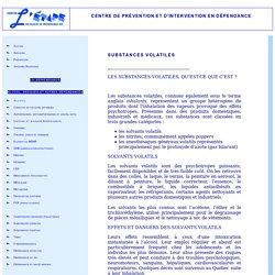 Indices de consommation de drogues / Centre l'Étape inc.