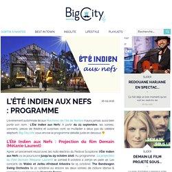 L'Été Indien aux Nefs : Programme - BigCityLife