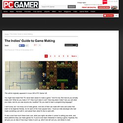 The Indies' Guide to Game Making