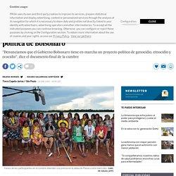 Líderes indígenas cierran filas en la Amazonia frente a la política de Bolsonaro