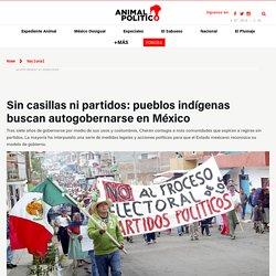 Sin casillas ni partidos: pueblos indígenas buscan autogobernarse en México