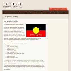 Bathurst Heritage Matters