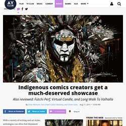 Indigenous comics creators get a much-deserved showcase · Comics Panel