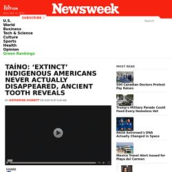 Taíno: 'Extinct' Indigenous Americans Never Actually Disappeared, Ancient Tooth Reveals