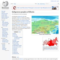 Indigenous peoples of Siberia