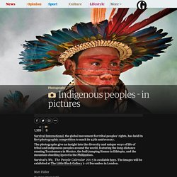 Indigenous peoples - in pictures 2 clicks
