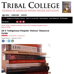 """28-3 """"Indigenous Peoples' History"""" Resource Guide"""