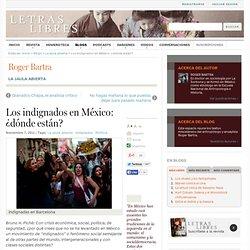 Los indignados en México: ¿dónde están?