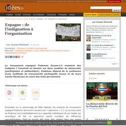 Espagne : de l'indignation à l'organisation