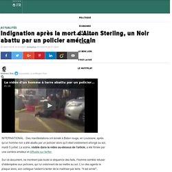 Indignation après la mort d'Alton Sterling, un Noir abattu par un policier américain