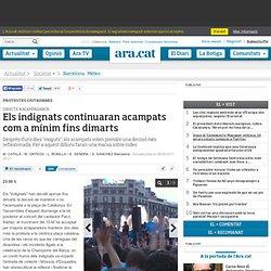 El recompte de ferits a la plaça Catalunya s'eleva a un centenar