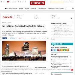Les Indignés français délogés de la Défense