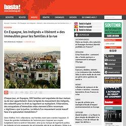 En Espagne, les Indignés « libèrent » des immeubles pour les familles à la rue - Logement