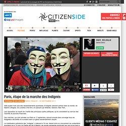 La marche des Indignés passe à Paris. Direction: Bruxelles - Politique