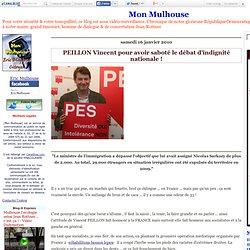 PEILLON Vincent pour avoir saboté le débat d'indignité nationale