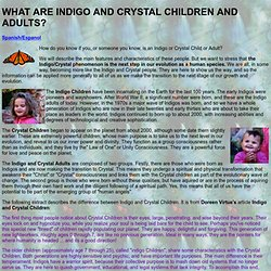 What Are Indigo and Crystal Children and Adults