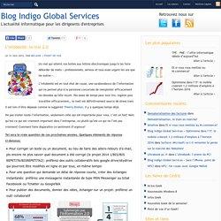 Blog Indigo Global Services » L'infobésité: le mal 2.0
