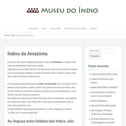 Índios da Amazônia