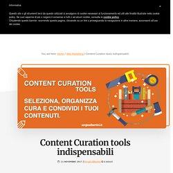 Content Curation tools indispensabili - Sergio Albertini