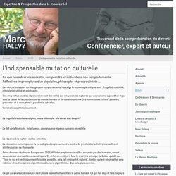 L'indispensable mutation culturelle
