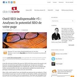 Outil SEO indispensable #3 : Analysez le potentiel SEO de votre page
