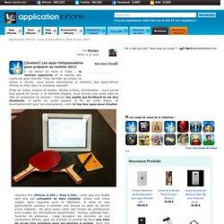 [Dossier] Les apps indispensables pour préparer sa rentrée 2011