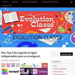 Mon Top 5 des logiciels en ligne indispensables pour un enseignant. – Evolution Classe