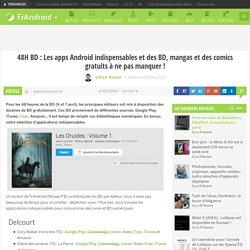 48H BD : Les apps Android indispensables et des BD, mangas et des comics gratuits à ne pas manquer !