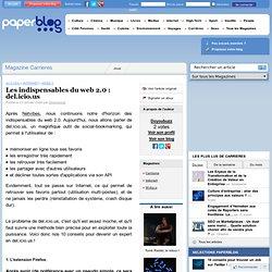 Les indispensables du web 2.0 : del.icio.us