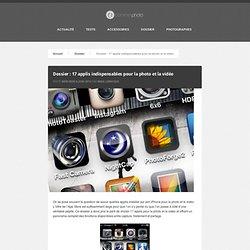 17 applis indispensables pour la photo et la vidéo