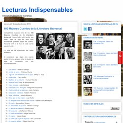 100 Mejores Cuentos de la Literatura Universal