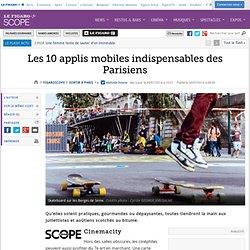 Les 10 applis mobiles indispensables des Parisiens