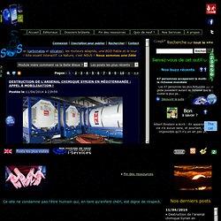 SOS-planete, le site de Terre sacrée. Actualités de l'environnement. L'information des lanceurs d'alerte.