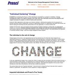 Individual Centering Change